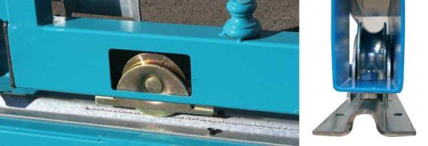 392 da2 1 1 2 - Sliding gate wheel 140UB  Dia